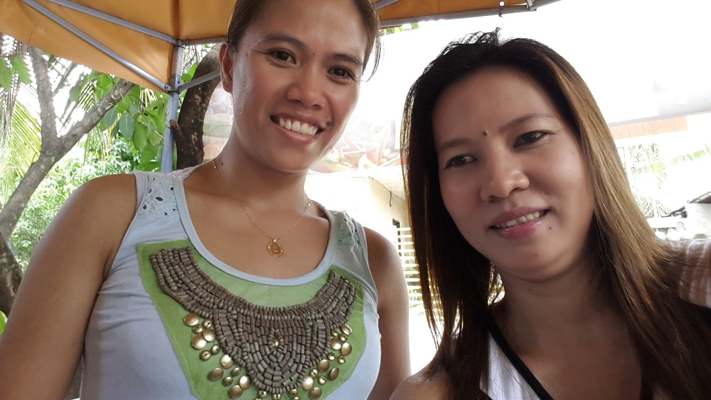 Together with my high-school classmate Joan