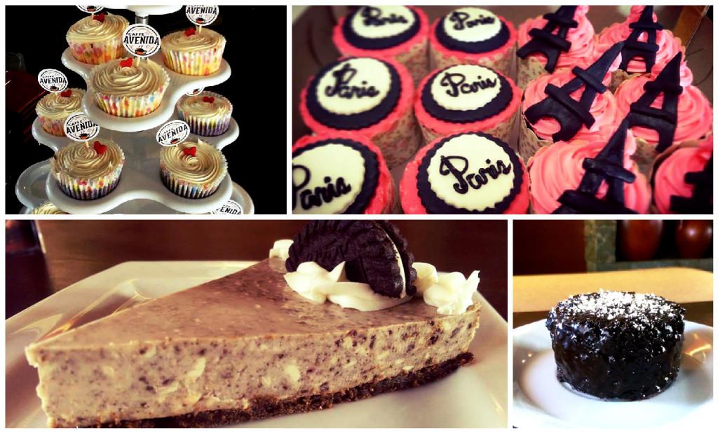 Caffe Avenida Cupcakes, Paris Cupcakes, Oreo Cheesecake, Chocolate Moist Cake Single