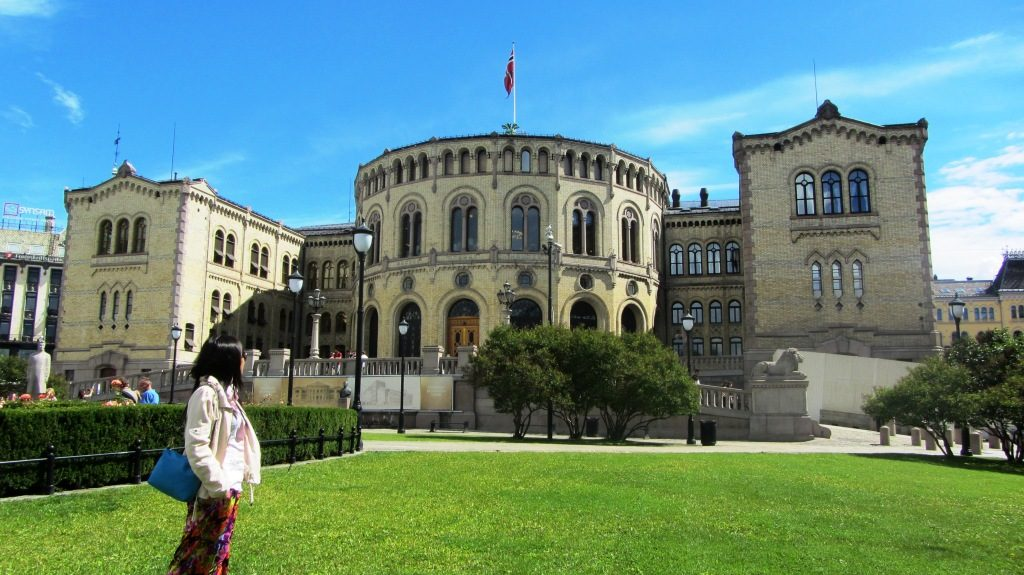 The Norwegian National Assembly or Parliament of Norway