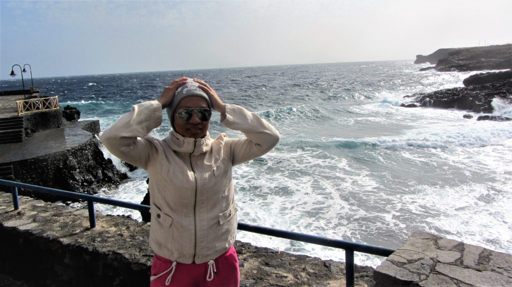 Welcomed by the wind, the electricity creator on El Hierro