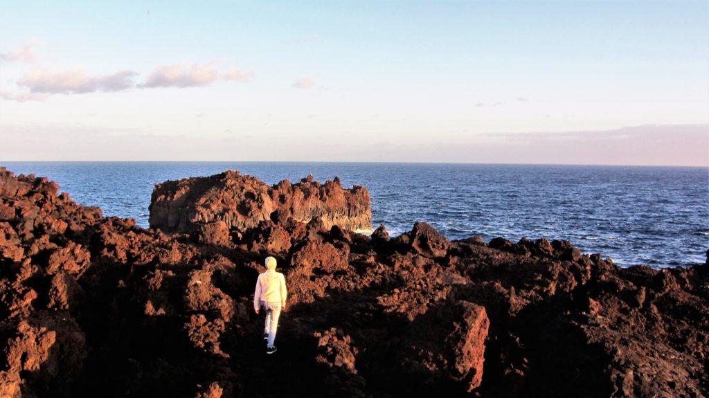 On my way to Roque de las Gaviotas, a rock in the sea with seagulls