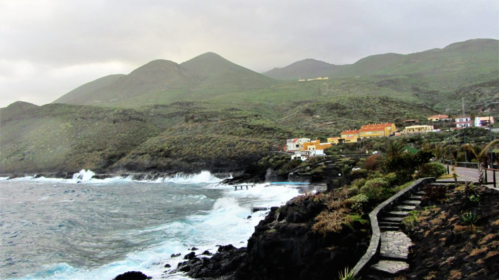 Living on the edge. La Caleta, one of several small coastal communities
