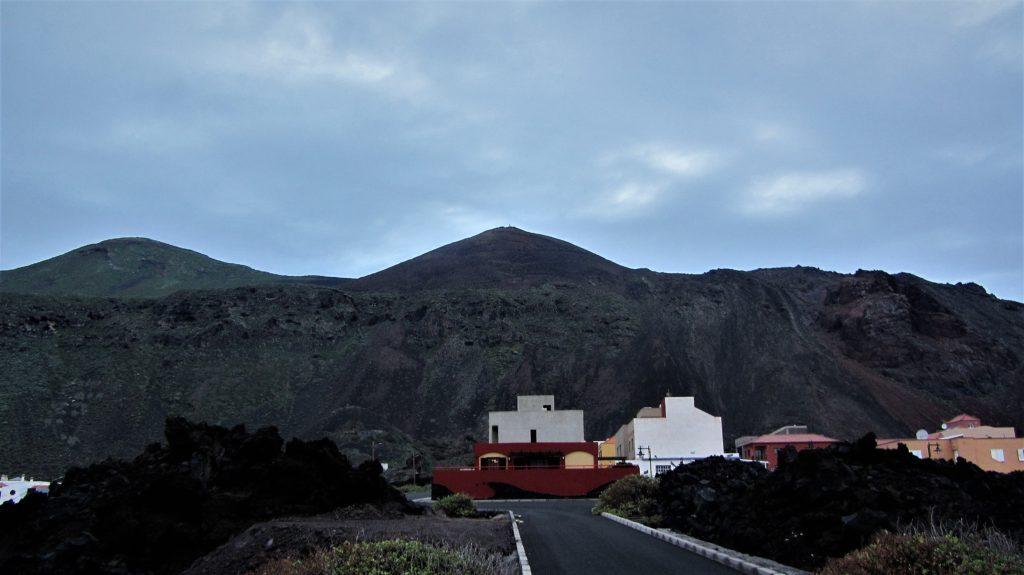 The little village is expanding unto the lava area