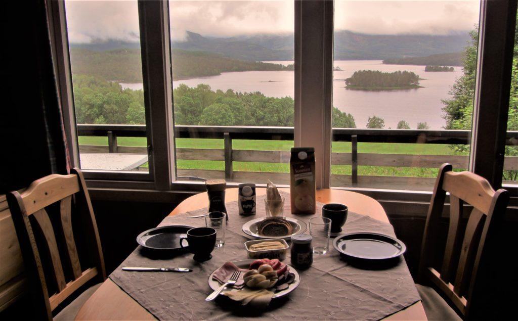 A typical Norwegian breakfast