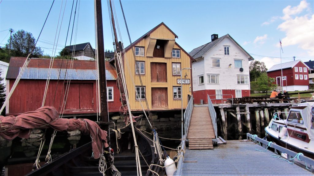 Thanks to volunteers, old boats and buildings are taken cared of