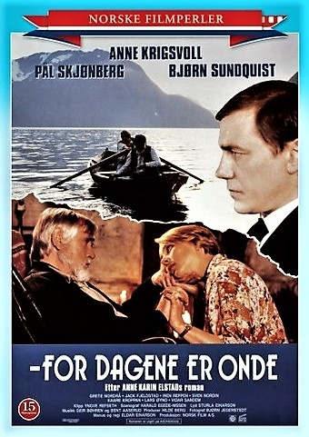 "The movie poster. The film was recently relaunched in a series called ""Norwegian Film Pearls"""