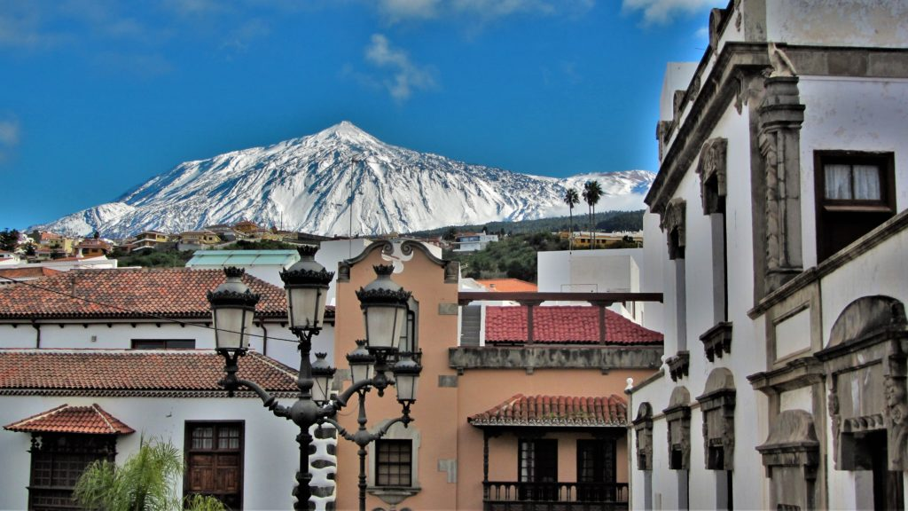 Our little community at the foot of Mount Teide